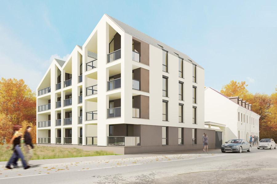 realizacja budynku mieszkalnego